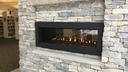 Our unique fireplace offers cozy seating and a place for people to meet, exchange ideas, and read.